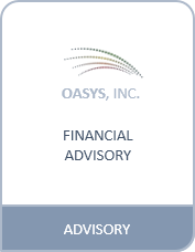 OASYS - Structuring/Financial Advisory